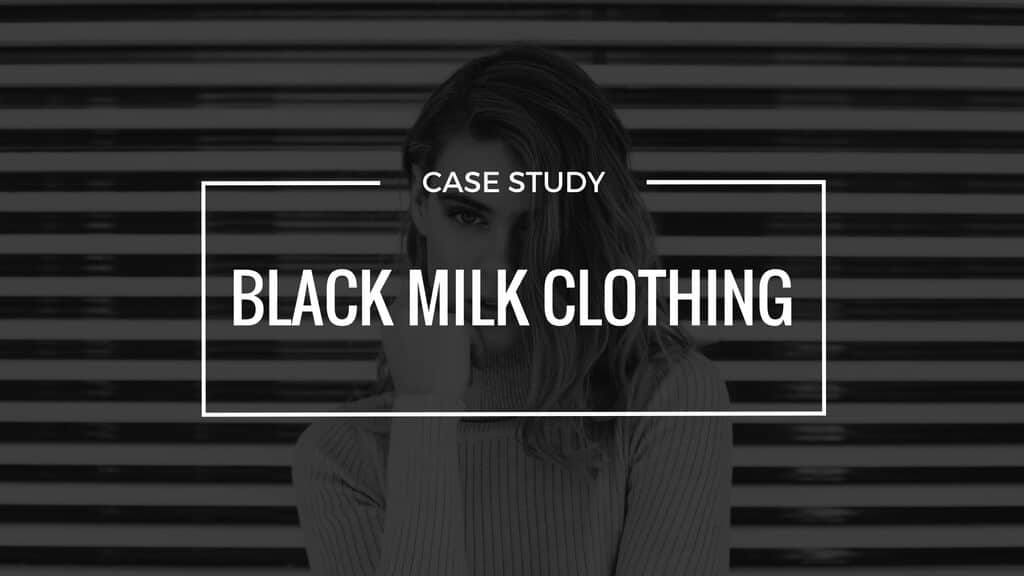 Black Milk Clothing – How being broke and working odd jobs sparked a random interest that became a multi million dollar business