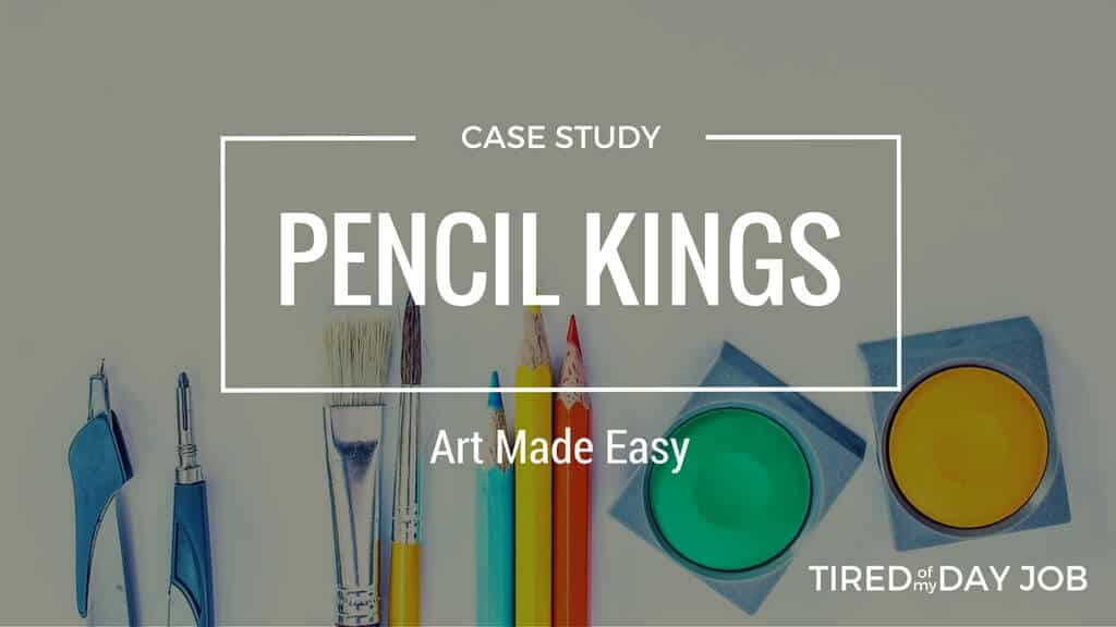 Pencil Kings – Delivering affordable art classes to a worldwide audience