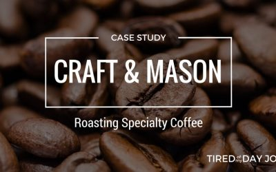 Craft and Mason – Passion for specialty coffee kickstarted a business