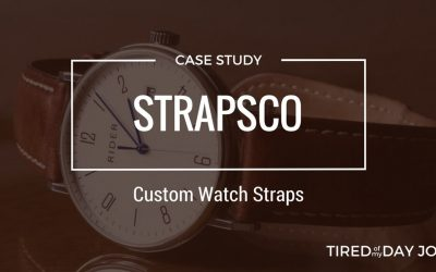 Strapsco – Customizing watch straps for fun and for business